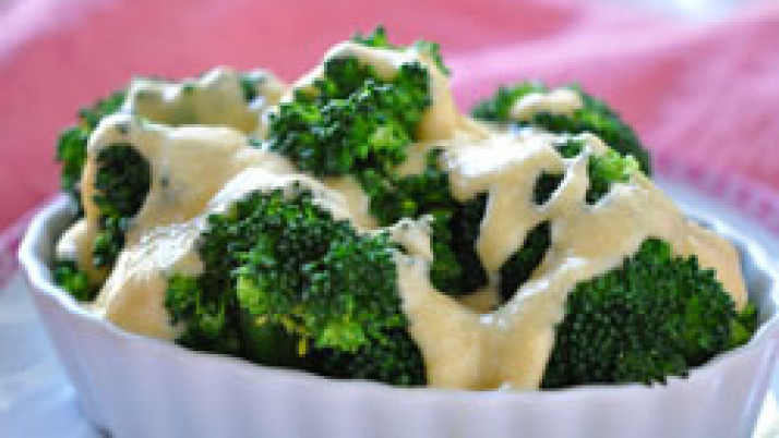 Cheesy Sauce with Vegetables Recipe